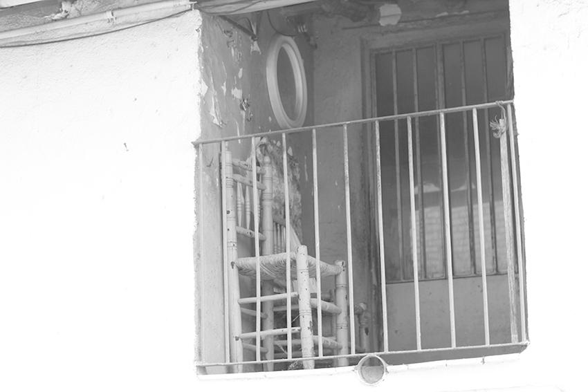 cilleros balcon silla