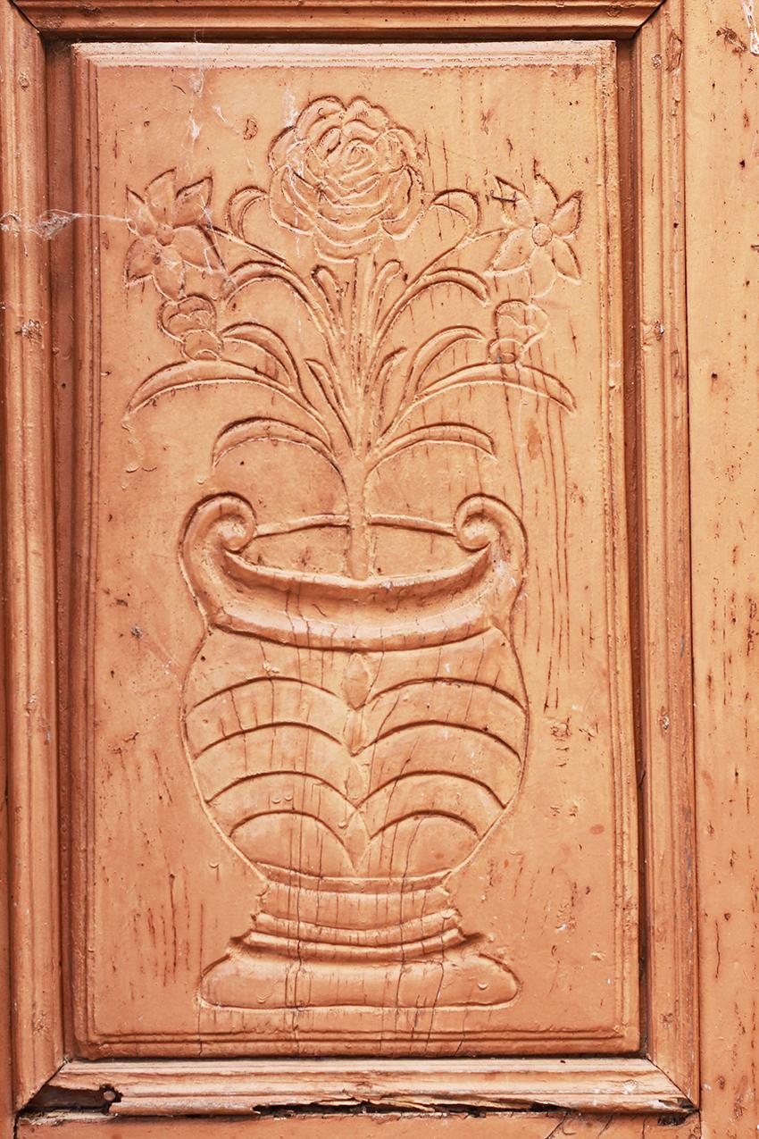 cilleros decoración puerta