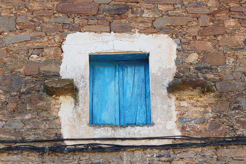 cilleros ventano azul