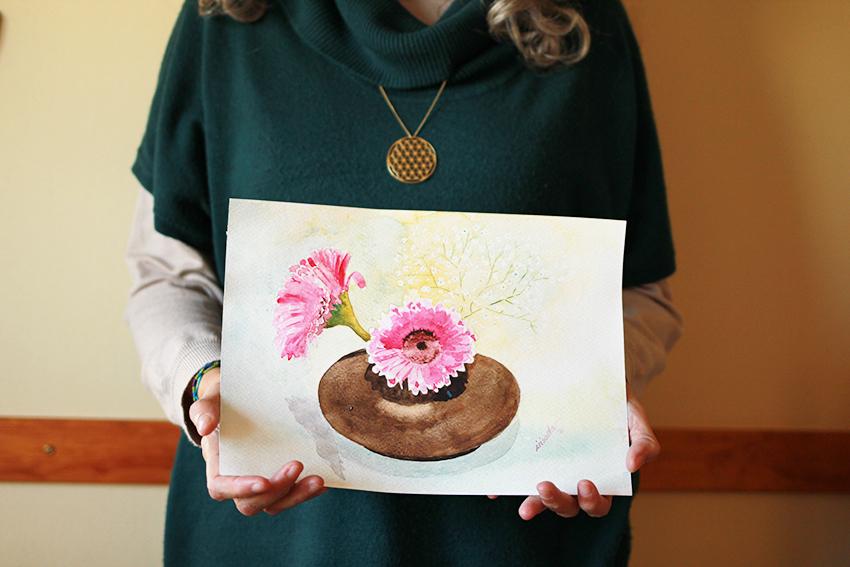 moraleja paraisos jarron flor