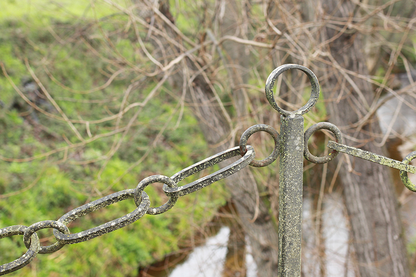 moraleja senderos puente barandilla