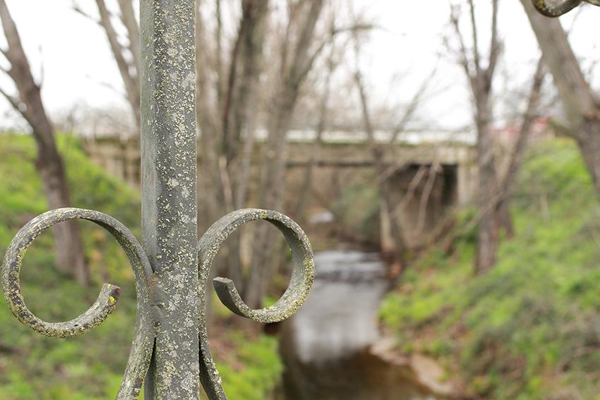 moraleja sendros puente detalle barandilla